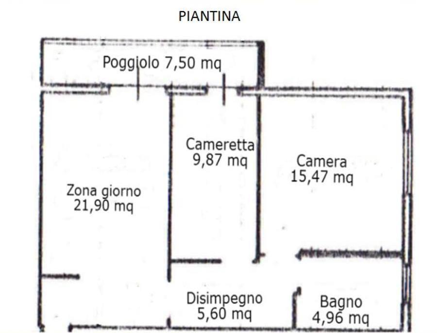 Appartamento con garage a 500 metri dal mare sottomarina for Garage prefabbricato con costo dell appartamento